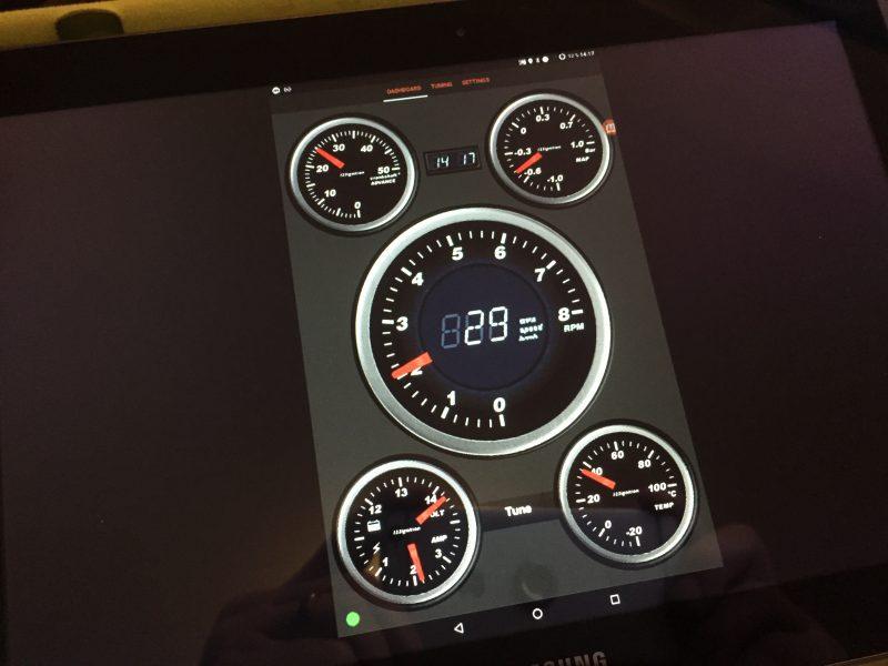 123/Tune+ testausta Androidilla